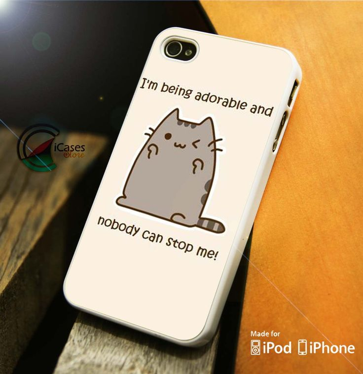 Samsung samsung galaxy s4 phone case wallet : Pusheen Cat Nobody Can Stop Me iPhone 4 5 5c 6 Plus Case, Samsung Gala ...