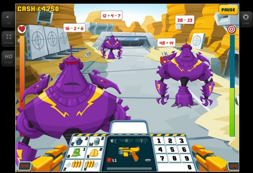 e - matematyk - zbiór gier matematycznych