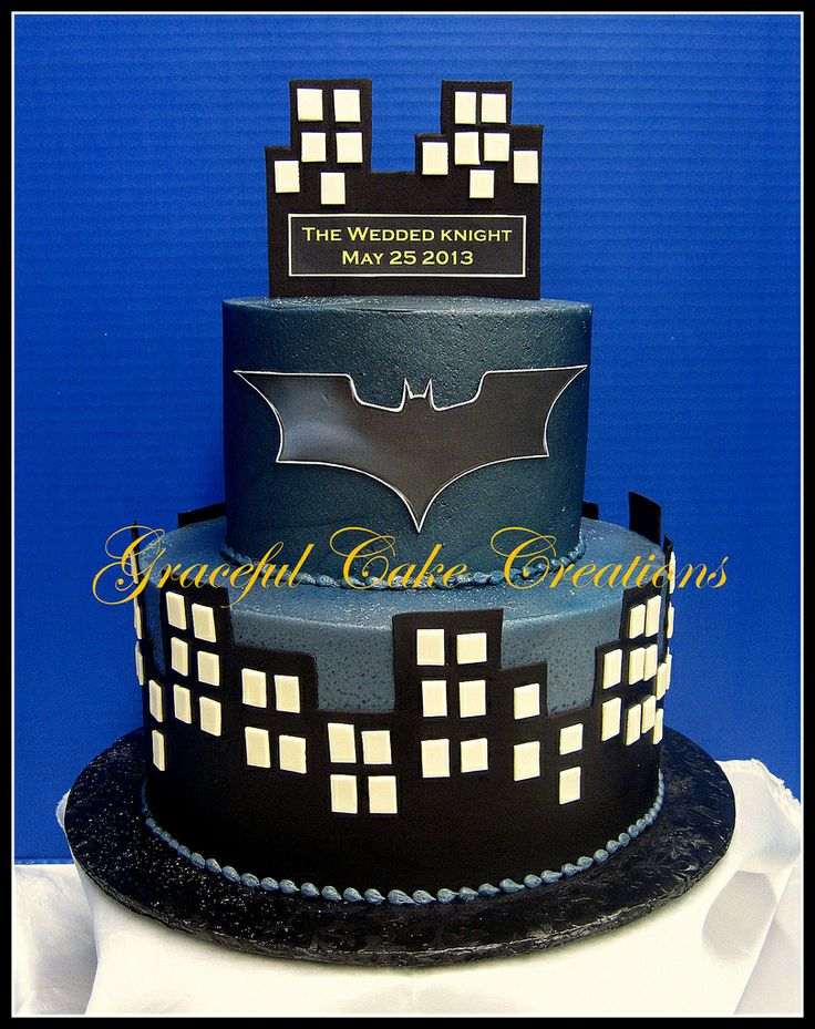 Batman groom cake | Batman Dark Knight Groom's Cake - a photo on Flickriver