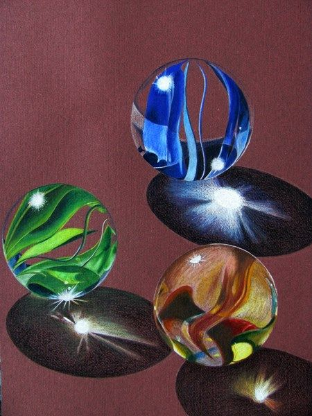 1000 images about bubbles rain drops spheres on - Colored paper art projects ...