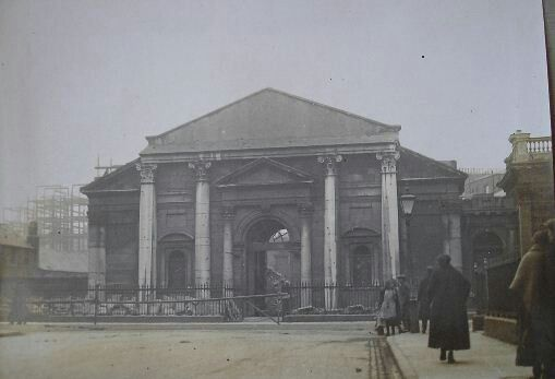 St Thomas Church on Marlborough St, now the Pro Cathedral, a temporary church for the Catholic Archbishop of Dublin. A permanent Catholic cathedral has never been built in Dublin.