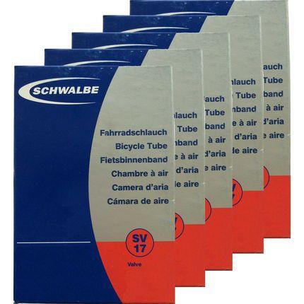Schwalbe MTB Inner Tube Pack of 5