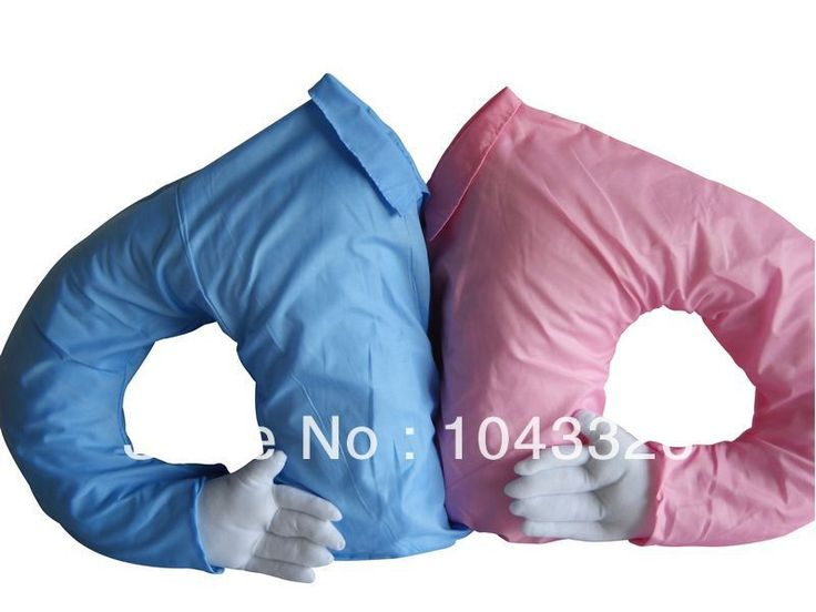 60 * 60 см инновационным для день рождения подарок валентина подарок синий розовый съёмный стирающийся бойфренд рука тело подушка