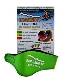The Ear Band-It® is a headband designed to help keep water out of a swimmer's ear, and is often used in conjunction with ear plugs or molds.  Useful for time out in the river!!