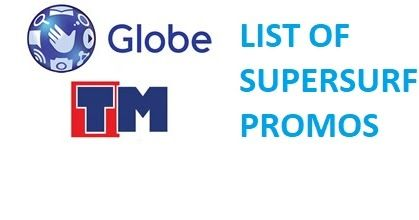 Globe Prepaid and Republika ng TM provide limitless net get right of entry to to their subscribers with SUPERSURFPROMOS. before supersurf may be used with no restriction as in unlimited down load and not using a speed capping. but these days Globe has carried out a coverage on utilization for all of their cellular information promos that is known as globe fair up policy. Clients on an internet promo and plan who exceed 800mb a day will revel in browsing at slower speeds. Consistent with…