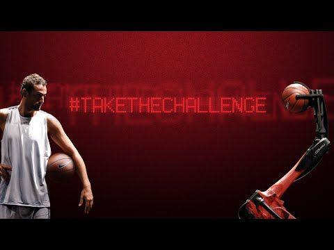 NBA-speler leert industriële robot basketballen - http://visionandrobotics.nl/2014/12/08/nba-speler-leert-industriele-robot-basketballen/
