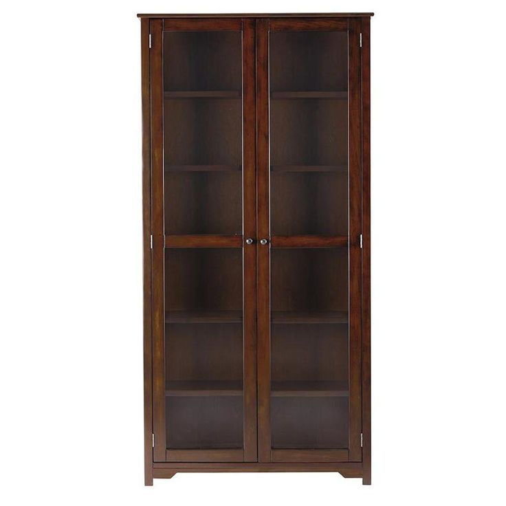 17 best ideas about glass door bookcase on pinterest for Home decorators bookcase