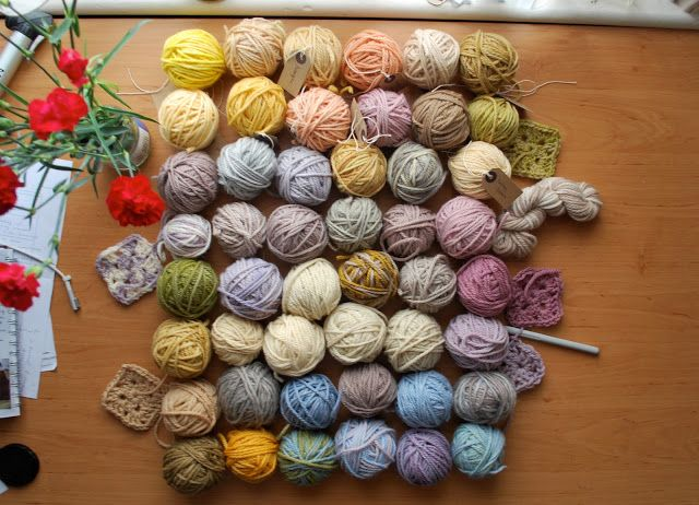I Am Kate: How to Dye Yarn with Natural Dyes - great step by step instructions/tutorial with pics.:
