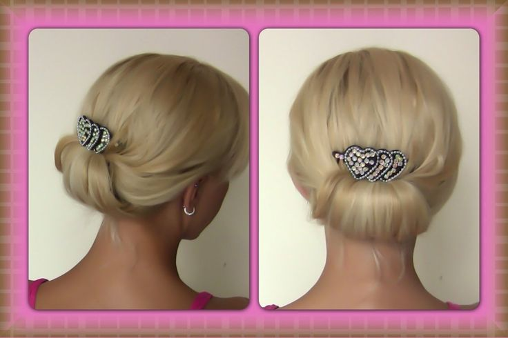 Quick and Simple Evening Updo | Easy Evening Updo