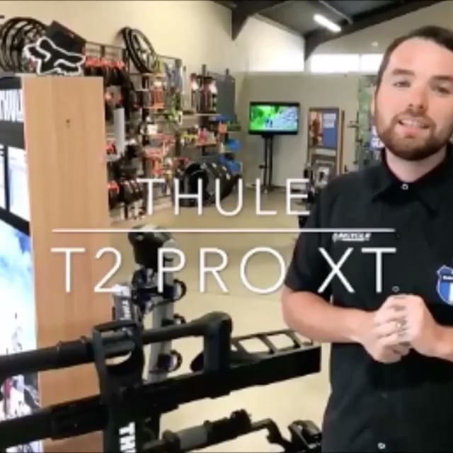 """TRANSPORTING MY BIKE IS A PAIN IN THE ASS 😃 🚴 not with the Thule T2 Pro XT.  1. Easy to load bikes on the rack 2. Won't scratch your car 3. Easily folds out of the way But wait there's more....... it locks to the car and the bikes lock to the rack. Very secure. Act now and save!! All Thule racks are on sale during our Memorial Day celebration. More info on website in the BIO above  In case you are curious Thule is pronounced """"Twolee"""" and they are the #1 autorack brand in the world. Get…"""
