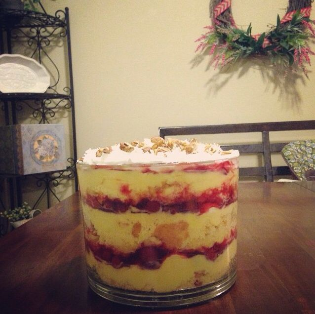 Cake Pineapple Cool Whip Coconut Pudding Trifle