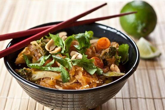 Spaghetti Squash Pad Thai : Best Food Pins
