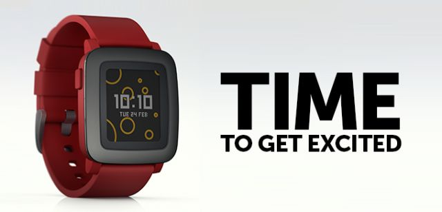 Iti place noul Pebble Time? http://stiritech.ro/pebble-time/