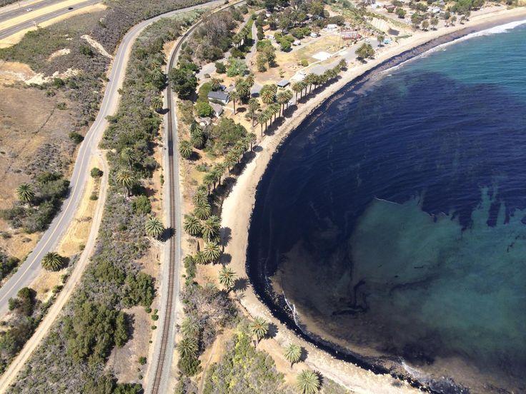 santa barbara oil spill this past tuesday 19th of may 2015