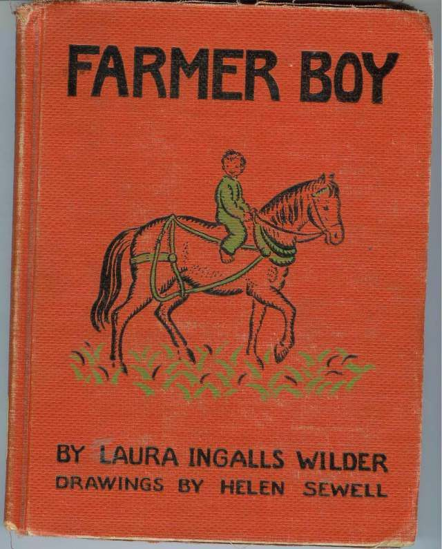 Farmer Boy cover by Laura Ingalls Wilder and drawings by Helen ...