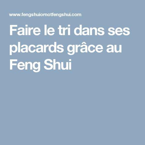Faire le tri dans ses placards grâce au Feng Shui