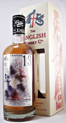 @englishwhisky  Chapter 13 St George's Day English Single Malt Whisky 45% Limited Edition of only 1499 bottles.
