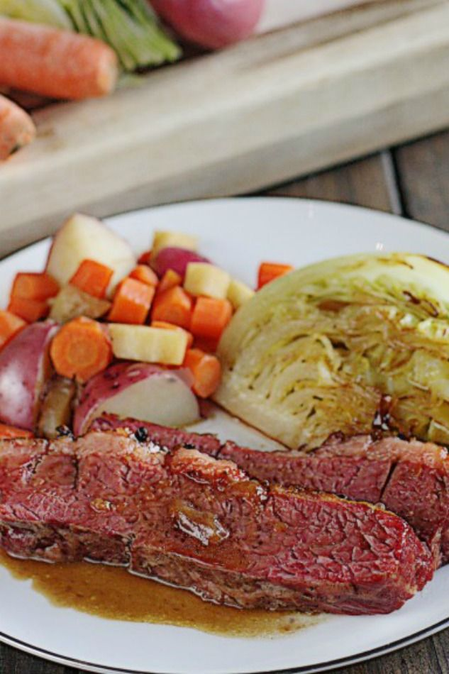 Guinness Corned Beef with Cabbage | Patrick o'brian ...