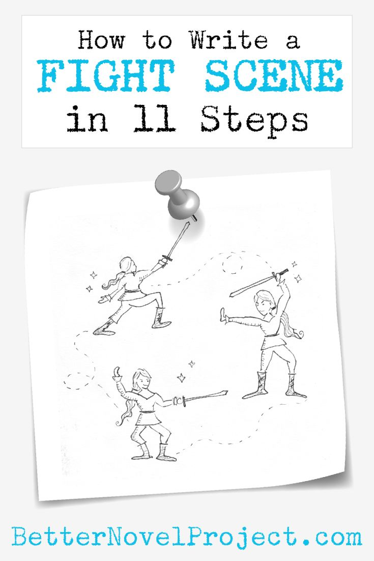 How to Write a Fight Scene in 11 Steps