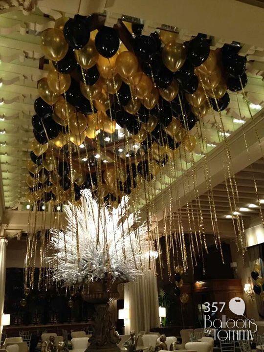The 25 best balloon ceiling ideas on pinterest balloon for Balloon decoration for ceiling