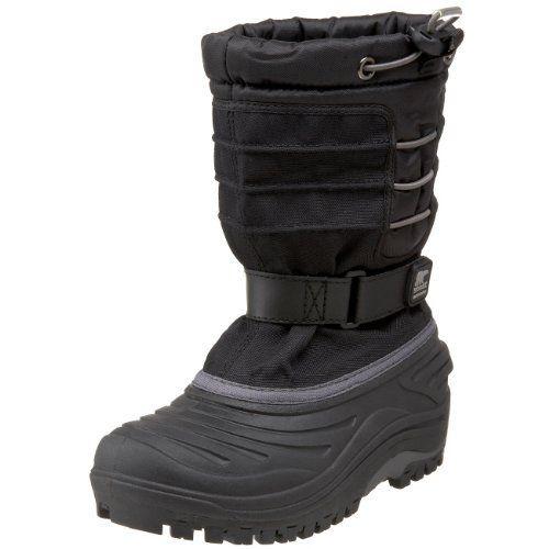 Sorel Snow Trooper 1804 - Waterproof Winter Boot (Toddler/Little Kid/Big Kid),Black,6 M US Toddler SOREL. $65.75