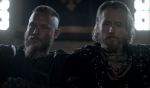 King Ragnar (Travis Fimmel) and King Ecbert (Linus Roache) star in Episode 4 (entitled Scarred) Season 3 of History Channel's Vikings