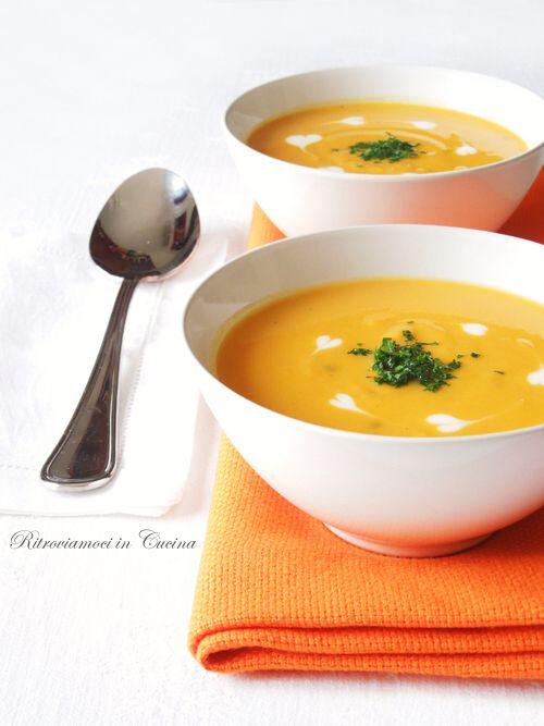 Zuppa di Patate Dolci