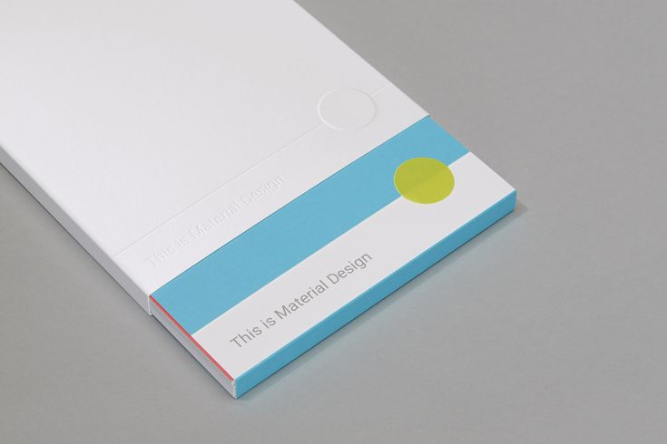 Google tasked San Francisco design studio Manual with interpreting its Material Design design language in print form. The results are beautiful, at least insofar as it's novel to see digital design...