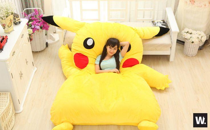 Pikachu Bed Set