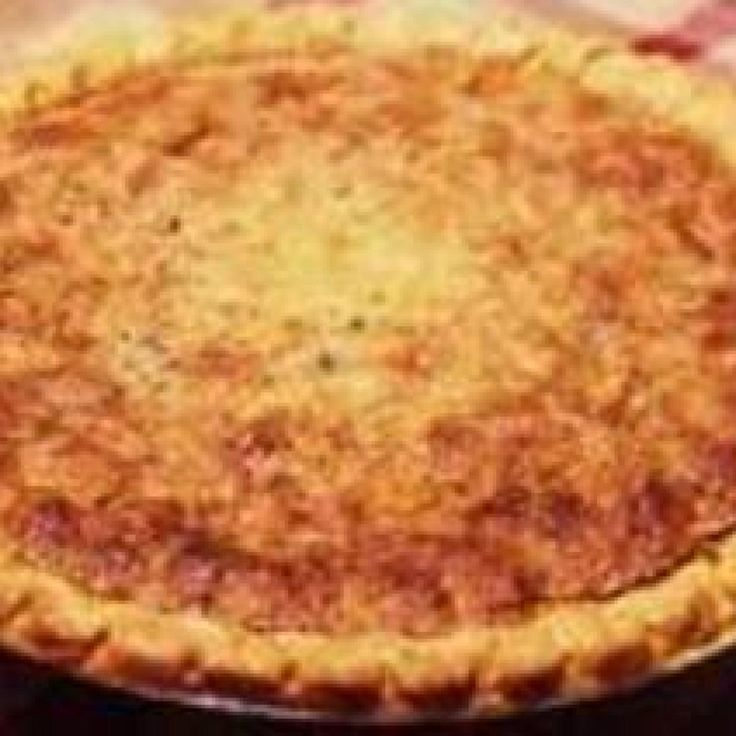 My Mother's Southern Pinto Bean Pie