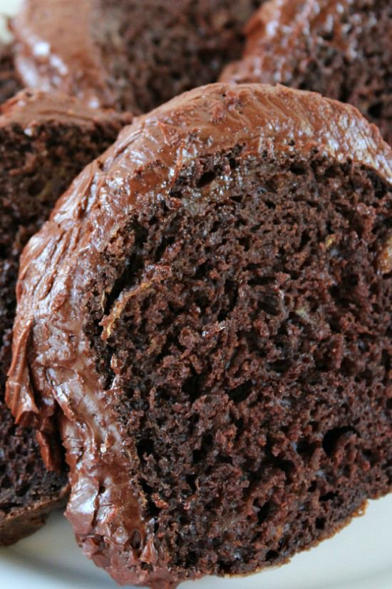 Chocolate Lover's Zucchini Cake - I'm all for a healthier chocoholic option!