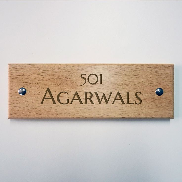 9 best Name plate images on Pinterest | Door name plates, Home ideas ...