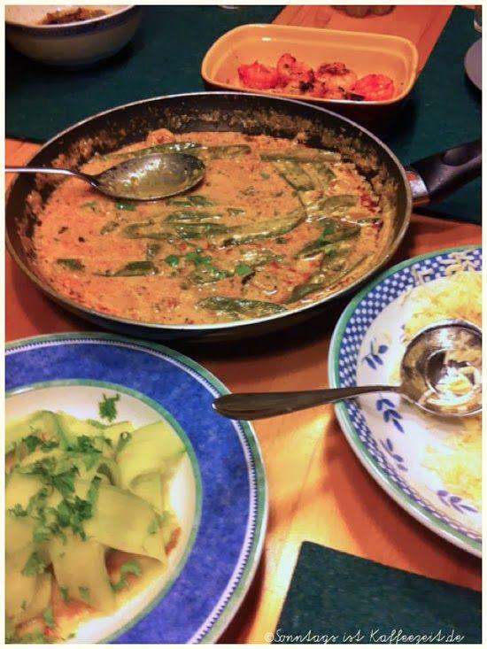 Sonntags ist Kaffeezeit: Rotes Thai-Curry mit Riesengarnelen - Jamie Oliver...