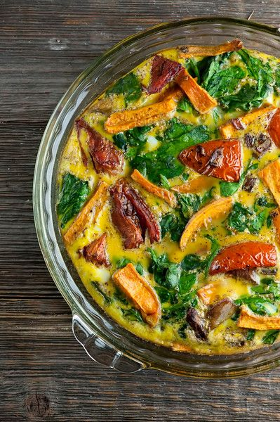 Roasted Vegetable Frittata - Framed Cooks