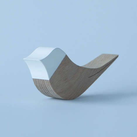 Rocking wooden Bird door stop, classic quirky and simple. Mom, you need this for your classroom!