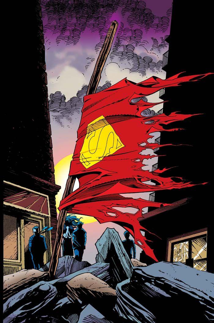 Superman #75//Dan Jurgens/I - J/ Comic Art Community GALLERY OF COMIC ART