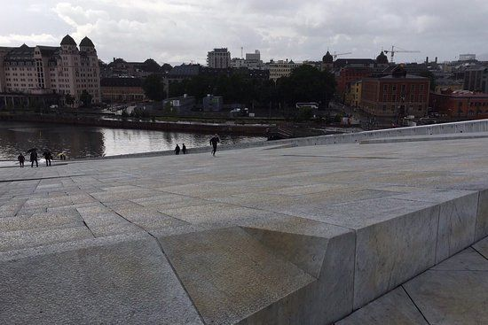 Oslo opera house - Oopperatalo