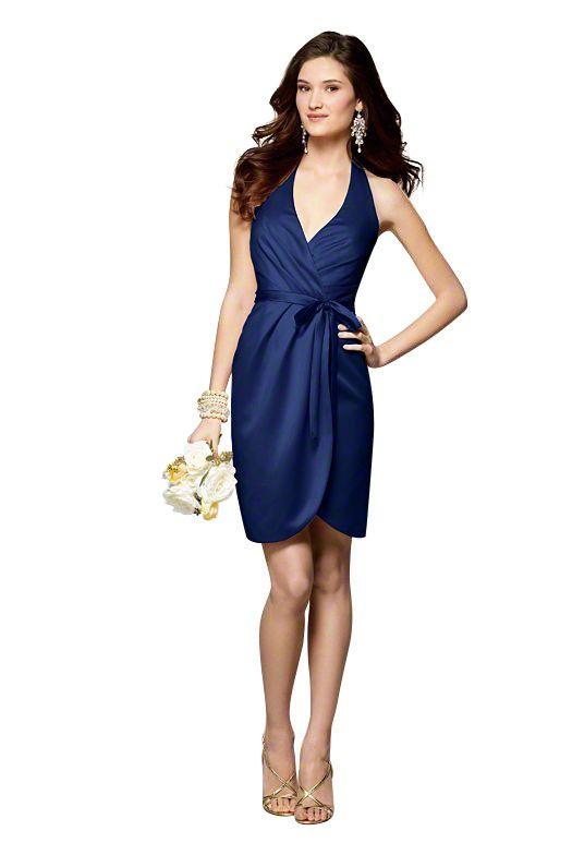 Alfred Angelo 7125 Bridesmaid Dress Satin| Weddington Way