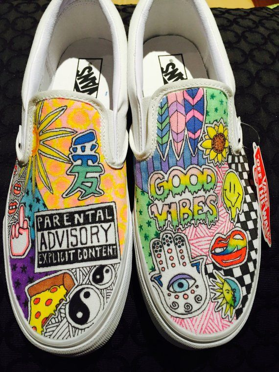 Items Similar To Customized Vans On Etsy Custom Vans Shoes