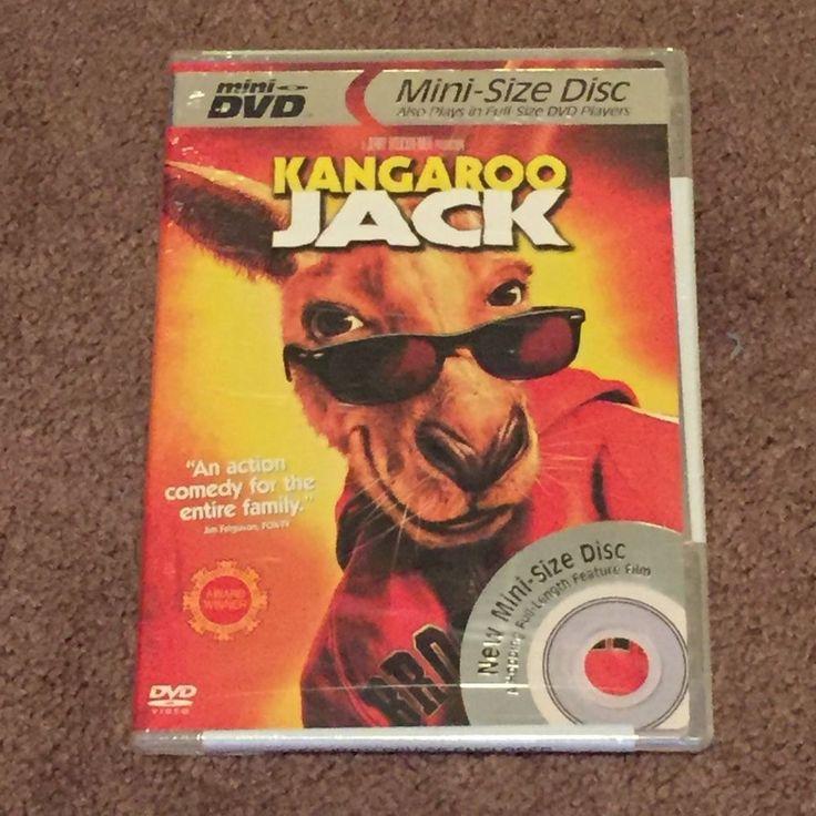 Kangaroo Jack (DVD, Mini Disc, Movie, Animation, Standard Version, 2003, PG) New