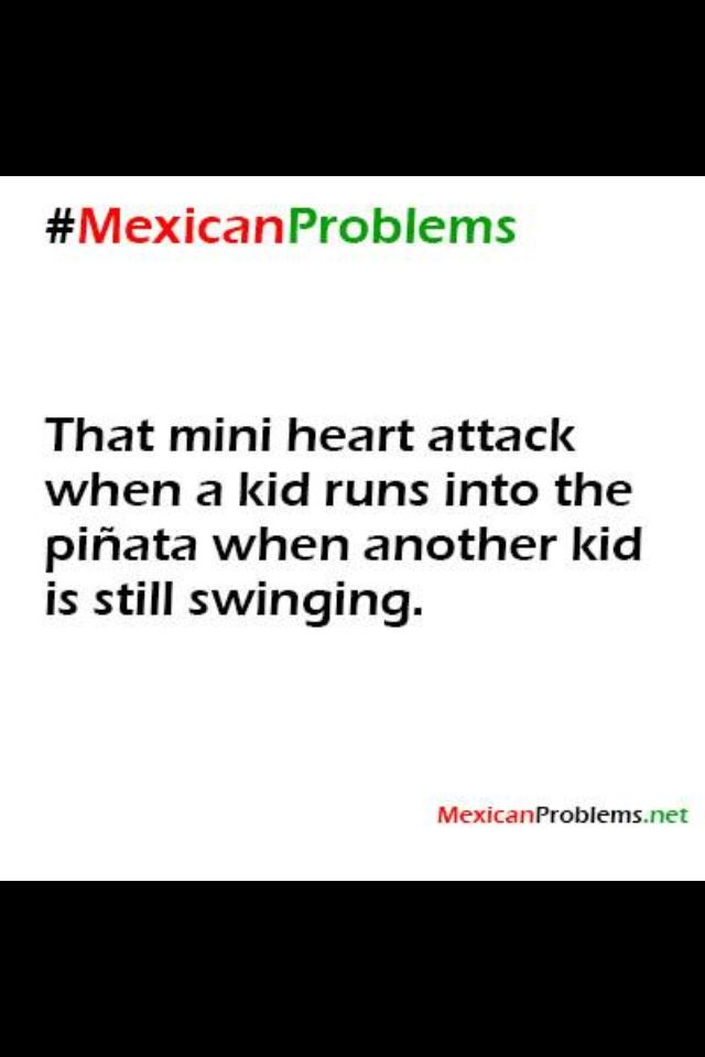Mexican American Issues:  me every time