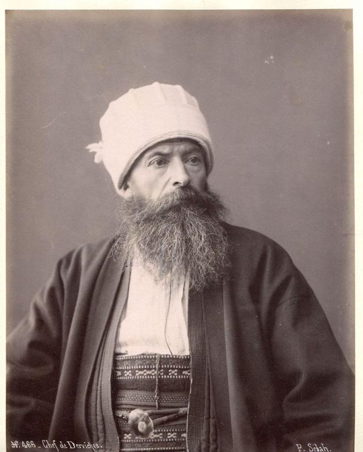 P. Sebah Phot. PORTRAIT Chef de Derviches Portrait de Derviches, c. 1880. in Collections, Photographies, Anciennes (avant 1900)   eBay