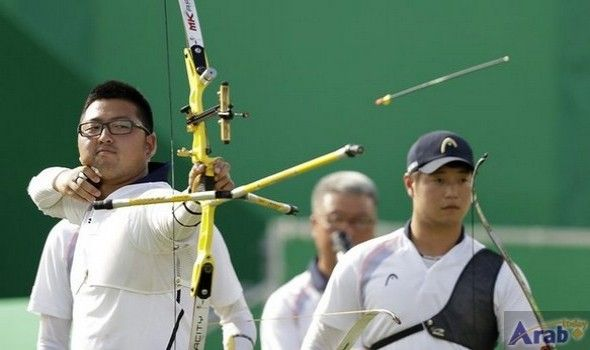 South Korea claim men's team archery title…