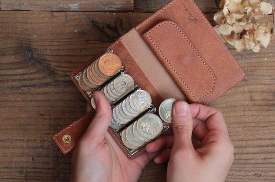 コインを整列できる「財布」がめちゃ便利そう   TABI LABO