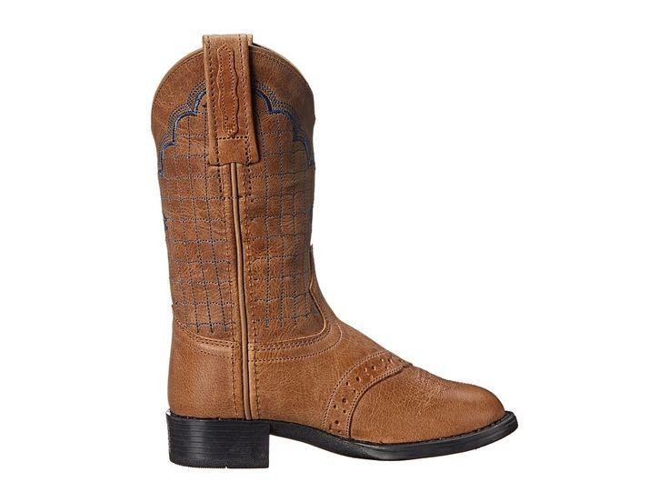 Old West Kids Boots Western Boots (Toddler/Little Kid) Cowboy Boots Tan Fry