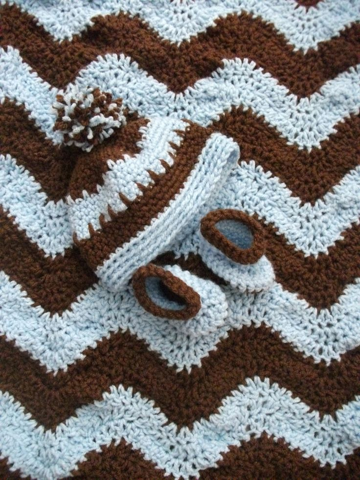 40 FREE CROCHET RIPPLE AFGHAN PATTERNS, LAPGHANS, BABY ...