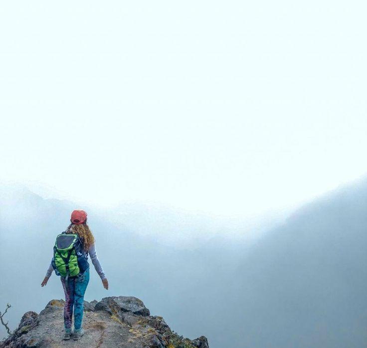 En la punta del volcán Baru, Chiriqui, Panamá. Fef💞🌟