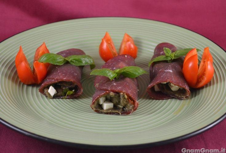 Scopri la ricetta di: Involtini di bresaola e melanzane