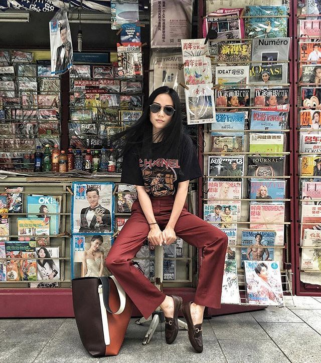 Yoyo Cao is Singapore's biggest style star and designer.