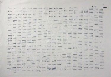 Alphabet - black on white